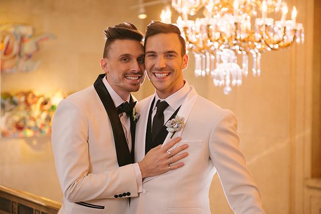 Grooms together | Toronto City Wedding | Julius & James Photography