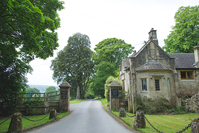 Painswick Centre Entrance | Outdoor Humanist Wedding | Ragdoll Photography