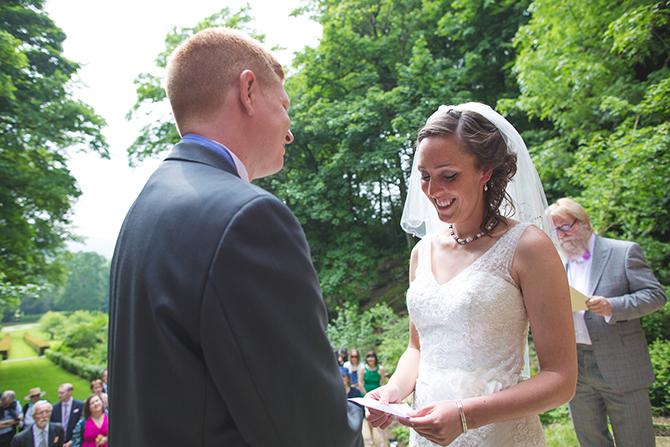Wedding vowels   Outdoor Humanist Wedding   Ragdoll Photography