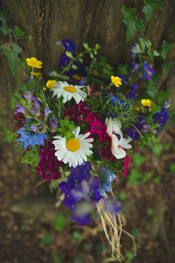 Painswick Rococo Garden flowers | Outdoor Humanist Wedding | Ragdoll Photography