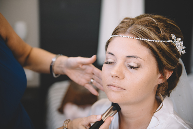 Bride getting ready | Rustic Wedding in Cyprus | Christodoulou Photography