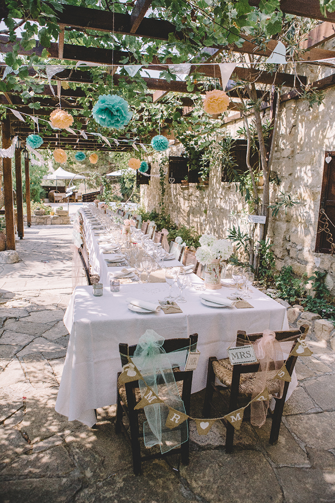 Outdoor wedding | Rustic Wedding in Cyprus | Christodoulou Photography