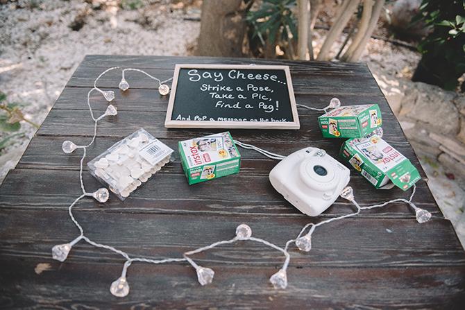 Wedding DIY camera | Rustic Wedding in Cyprus | Christodoulou Photography