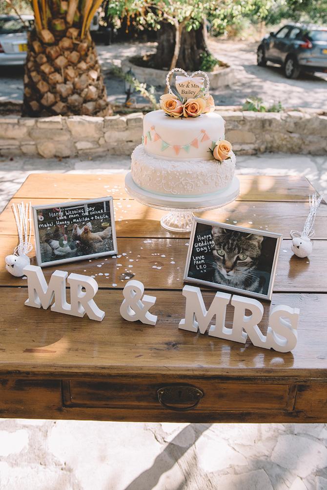 Wedding cake | Rustic Wedding in Cyprus | Christodoulou Photography