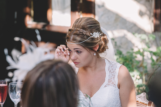 Wedding speech reaction | Rustic Wedding in Cyprus | Christodoulou Photography
