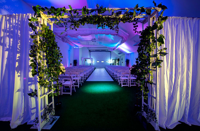 Wedding Ceremony at Allianz Park London