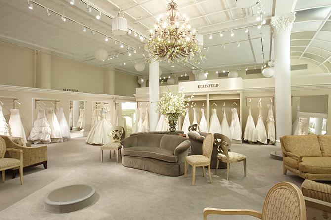 Kleinfeld Bridal Inside
