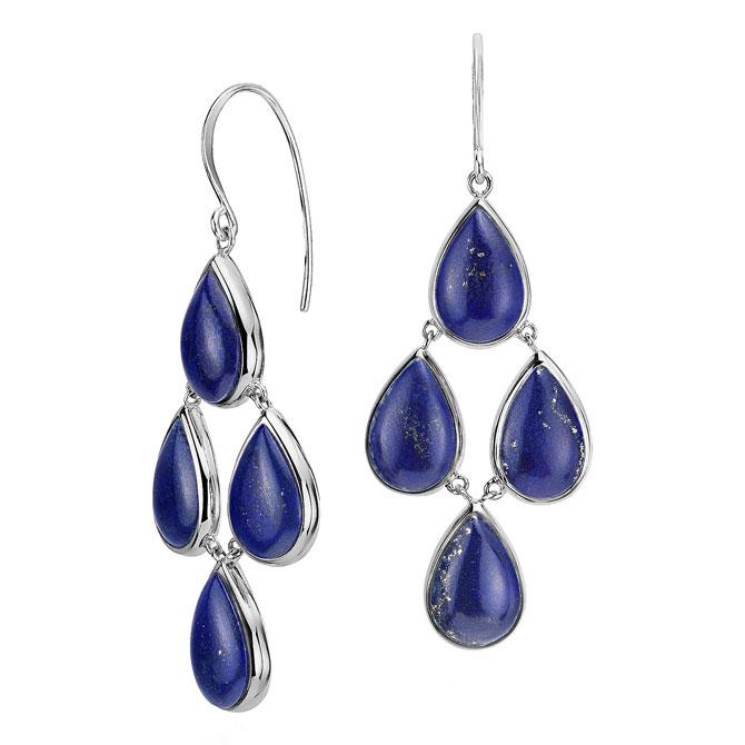 Lapis Earrings by Blue Nile
