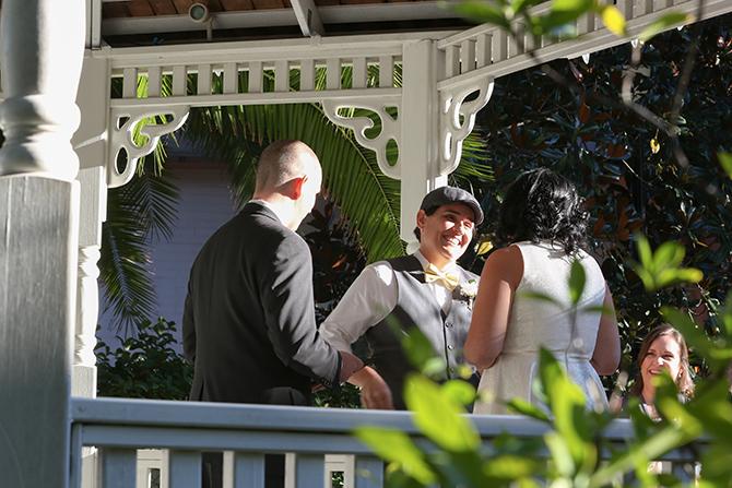 Summer Courtyard Wedding | Live Happy Studio 26