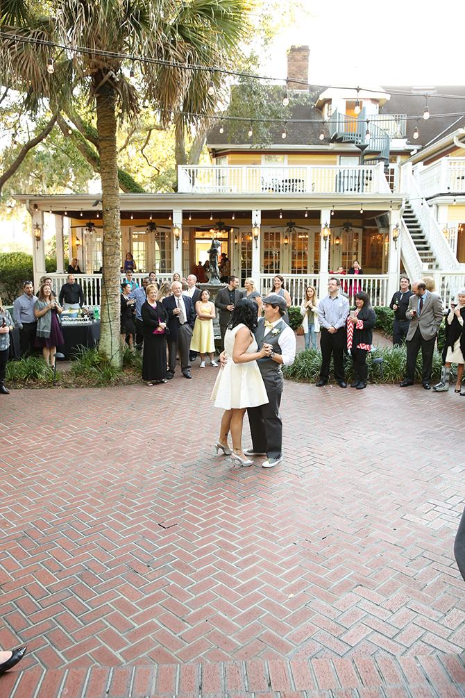 Summer Courtyard Wedding | Live Happy Studio 48