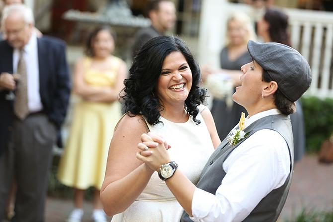 Summer Courtyard Wedding | Live Happy Studio 49