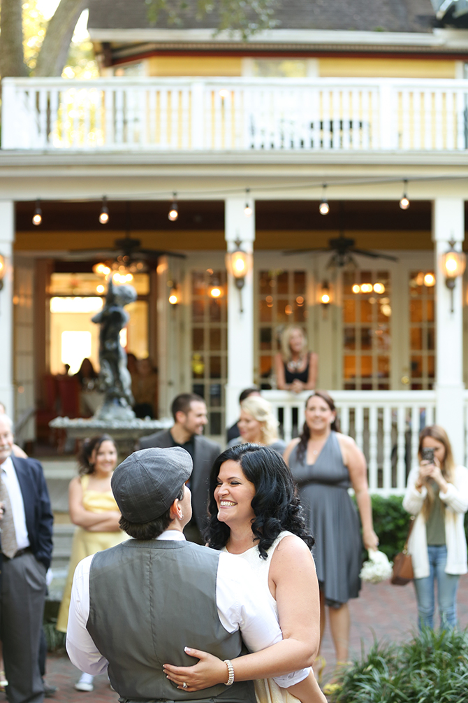 Summer Courtyard Wedding | Live Happy Studio 50
