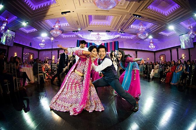 Wedding dance | Colourful Asian Inspired Hindu Wedding | HRM Photography