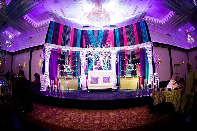 Grand Empire Ontario | Colourful Asian Inspired Hindu Wedding | HRM Photography