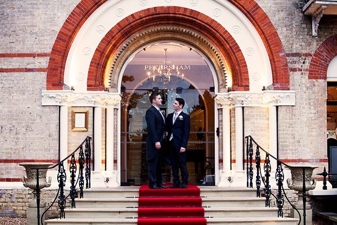 Wedding at The Petersham