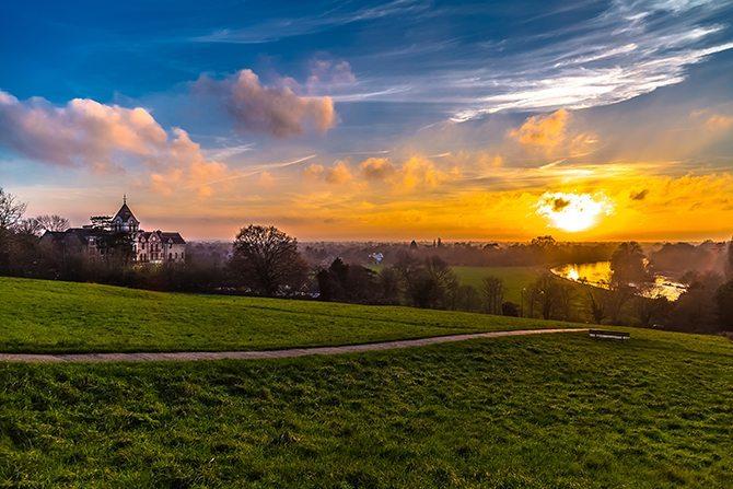 The Petersham at Sunset