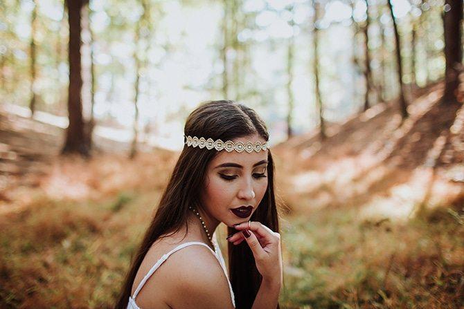 Bohemian bride   Redtop Mountain Bride   Hellen Oliveira Photography