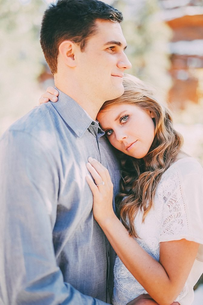 Zion National Park Engagement | Gideon Photography
