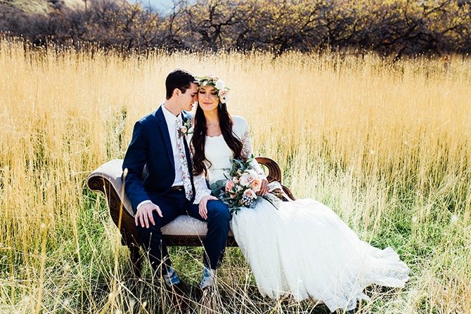 Countryside wedding | Charming Barn Wedding | Kate Olson Photo