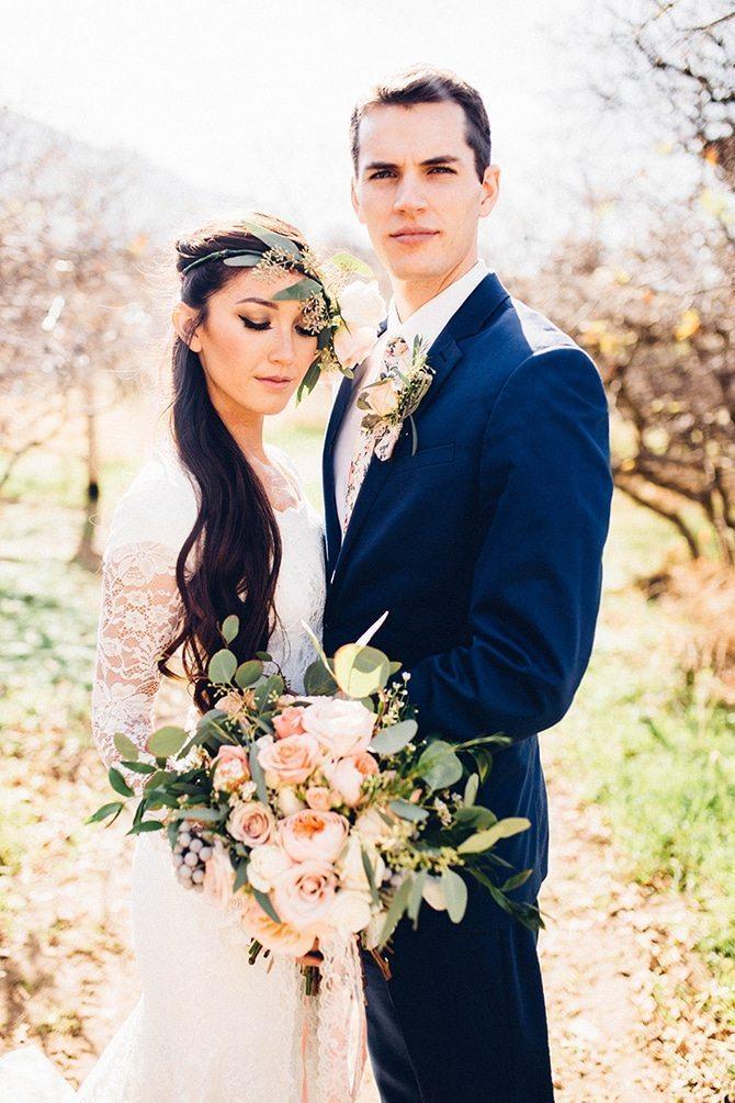 Modern countryside wedding | Charming Barn Wedding | Kate Olson Photo