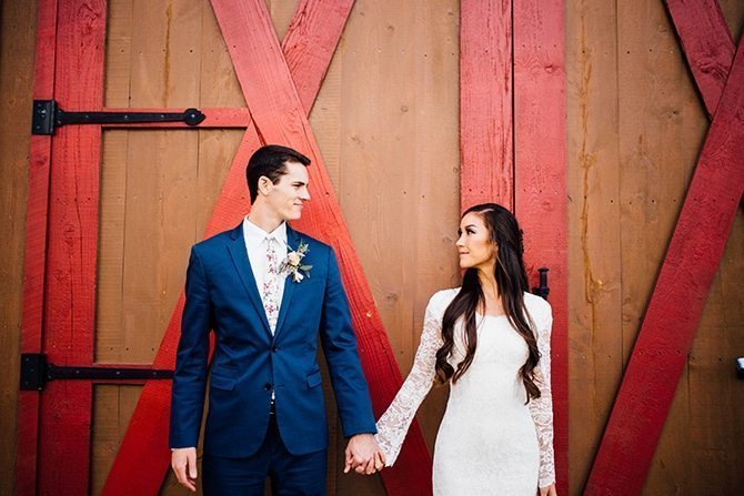 Barn wedding | Charming Barn Wedding | Kate Olson Photo
