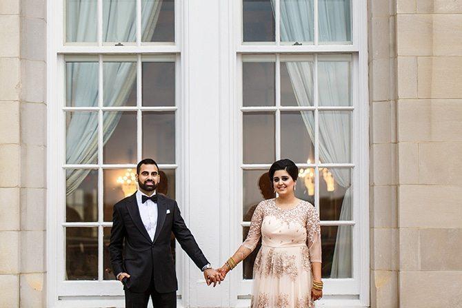 Bride and Groom in Edmonton | Downtown Wedding in Edmonton | Shandro Photo