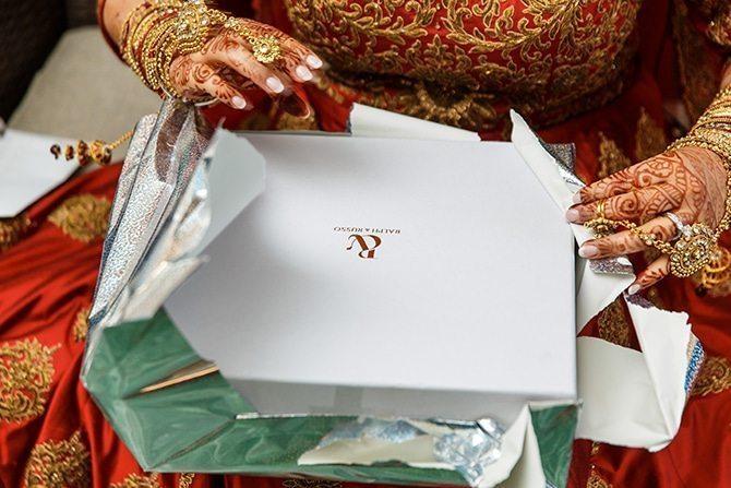 Bridal gift | Downtown Wedding in Edmonton | Shandro Photo