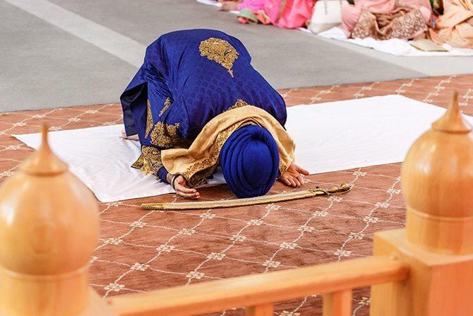 Sikh wedding ceremony | Downtown Wedding in Edmonton | Shandro Photo