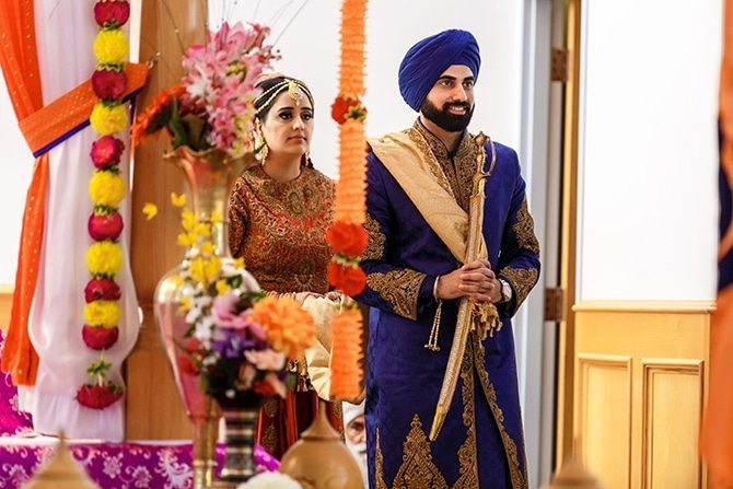 Sikh ceremony | Downtown Wedding in Edmonton | Shandro Photo