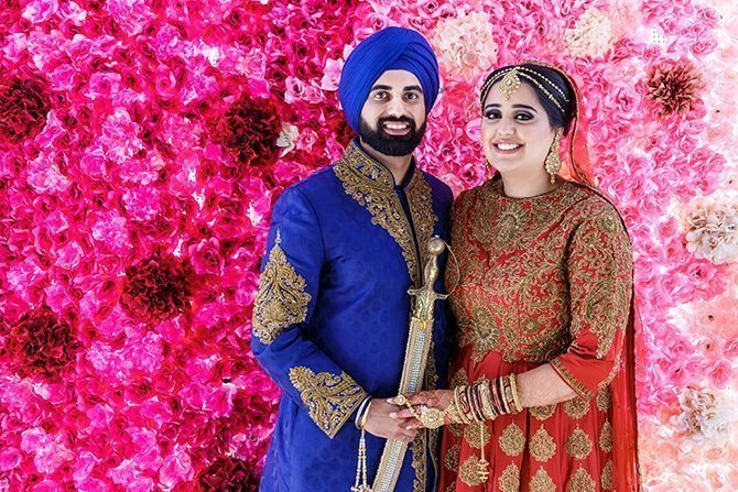 Sikh wedding ceremony in Edmonton | Downtown Wedding in Edmonton | Shandro Photo