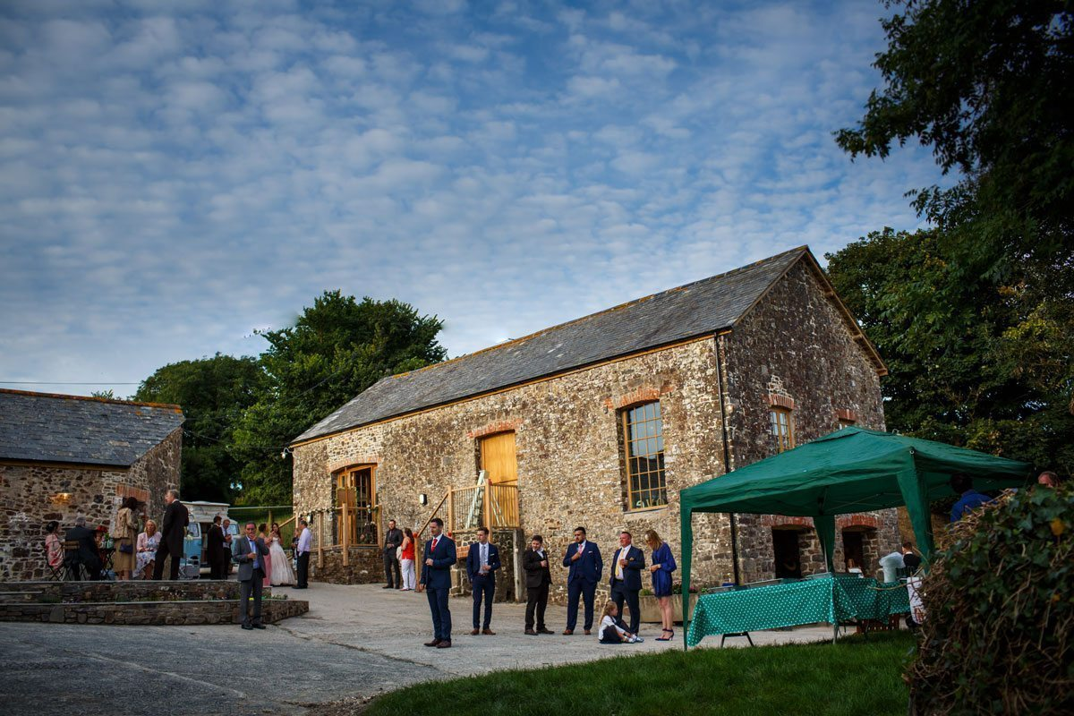 Outdoor wedding venues in Cornwall