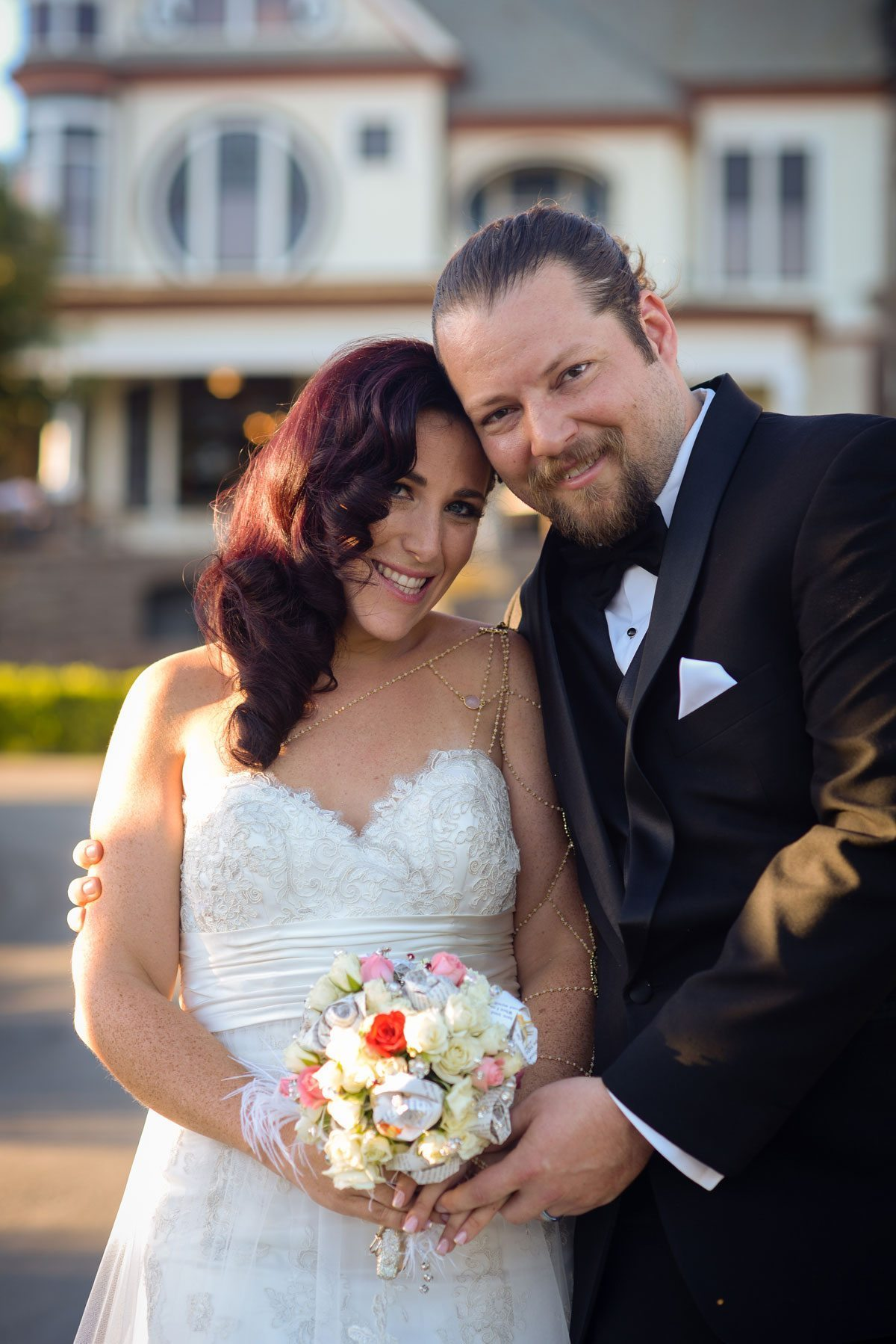 Newlyweds | Magical California Mansion Wedding VeroLuce Photography