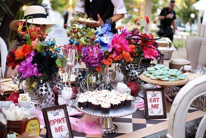 Alice in Wonderland Inspired Wedding | Magical California Mansion Wedding VeroLuce Photography