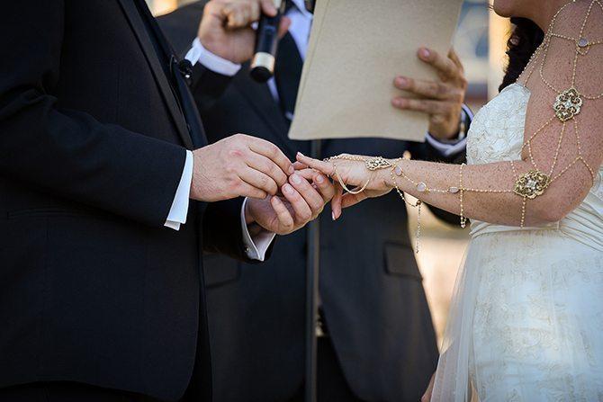 Wedding ring | Magical California Mansion Wedding VeroLuce Photography