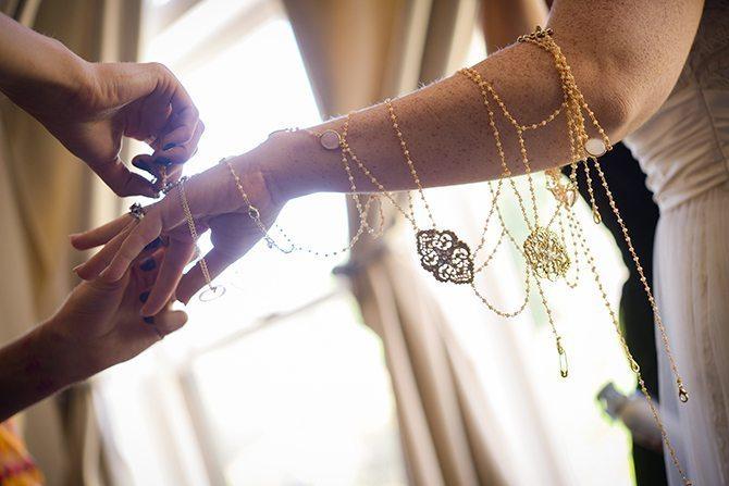 Bridal jewellery | Magical California Mansion Wedding VeroLuce Photography