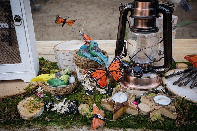 Whimsical wedding decor | Magical California Mansion Wedding VeroLuce Photography