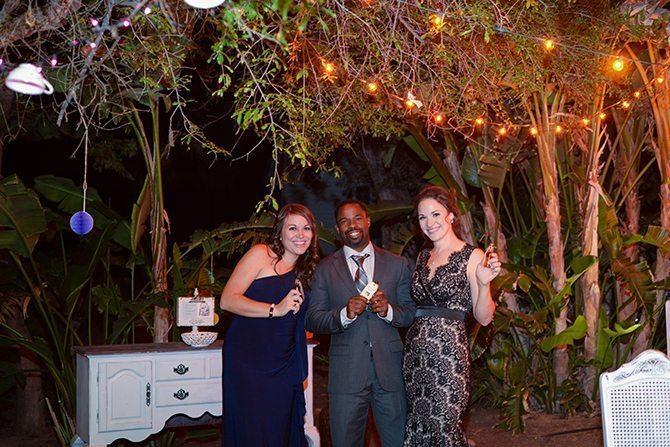 Outdoor reception | Magical California Mansion Wedding VeroLuce Photography
