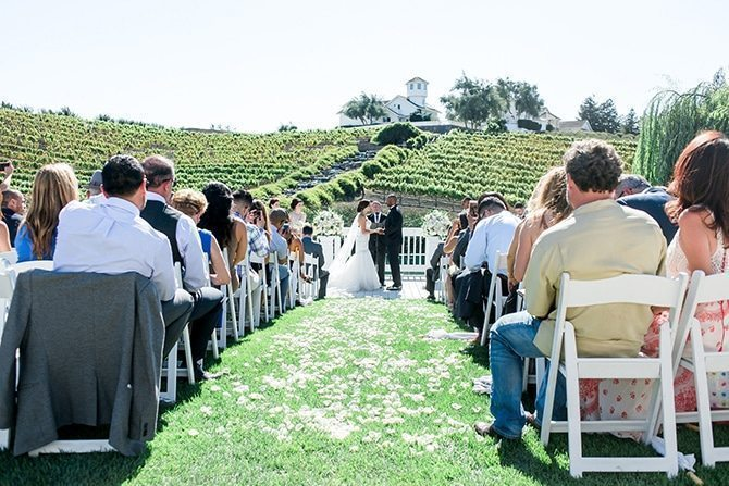 Vineyard wedding | Vineyard Wedding in Hollister | Amy Bluestar Photography