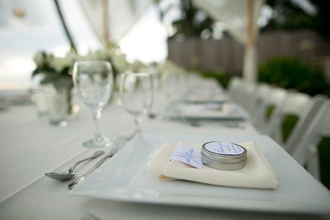 Wedding favours | Intimate Hawaiian Beach Wedding | Joanna Tano Photography