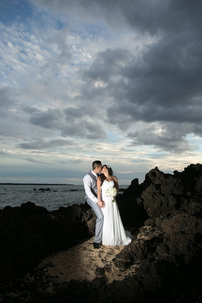 Wedding in Hawaii | Intimate Hawaiian Beach Wedding | Joanna Tano Photography