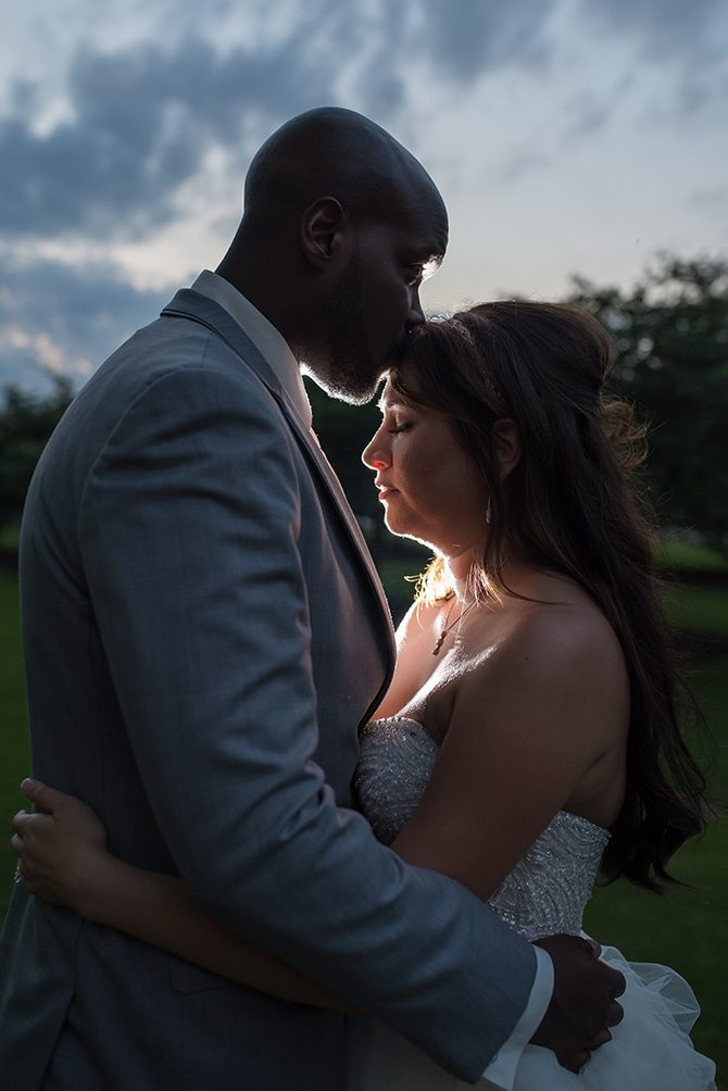 Newlyweds | Summer Wedding in Chicago | Lisa Kay Photograpy