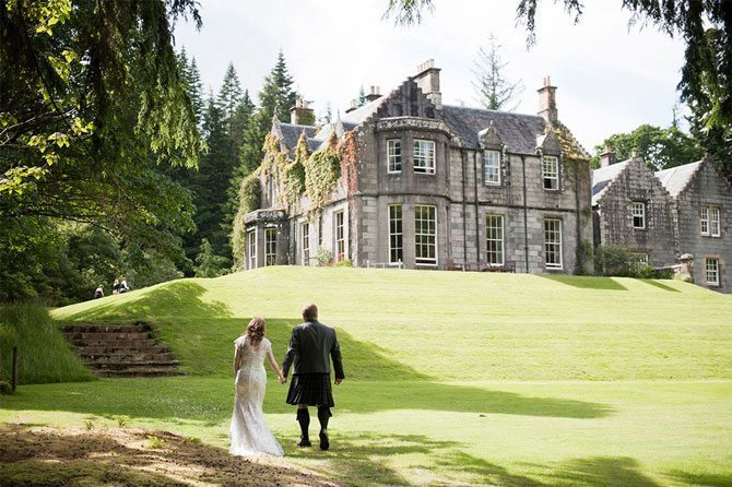 Ardanaiseig Wedding | Top UK Country House Wedding Venues