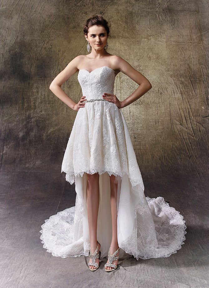 Wedding dresses for athletic shape