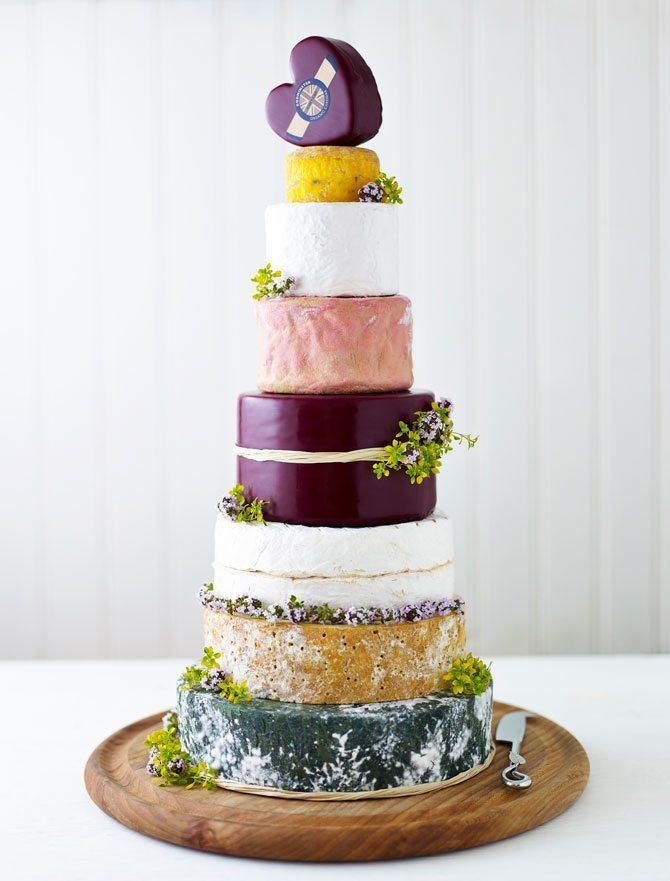 Wedding Cheese Cake - Godminster Cheese