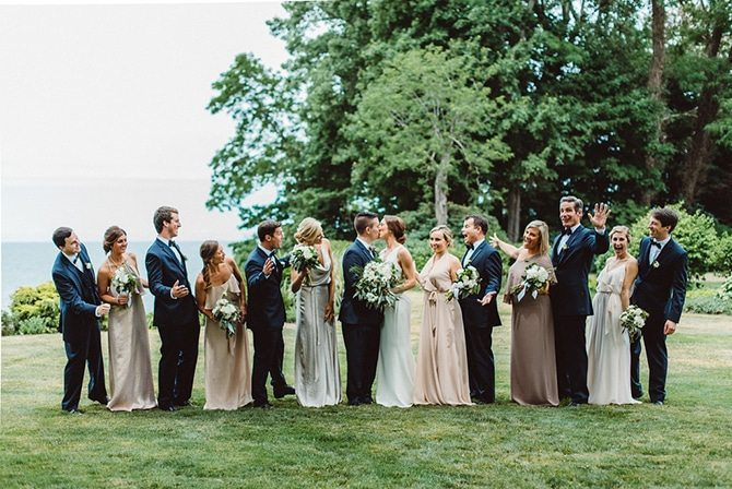 Wedding Party | Nautical Wedding in Ohio | Aster & Olive Photography