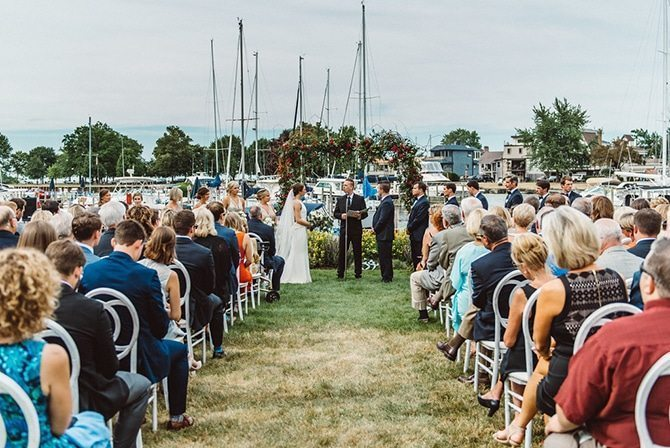 The Cleveland Yachting Club Wedding | Nautical Wedding in Ohio | Aster & Olive Photography