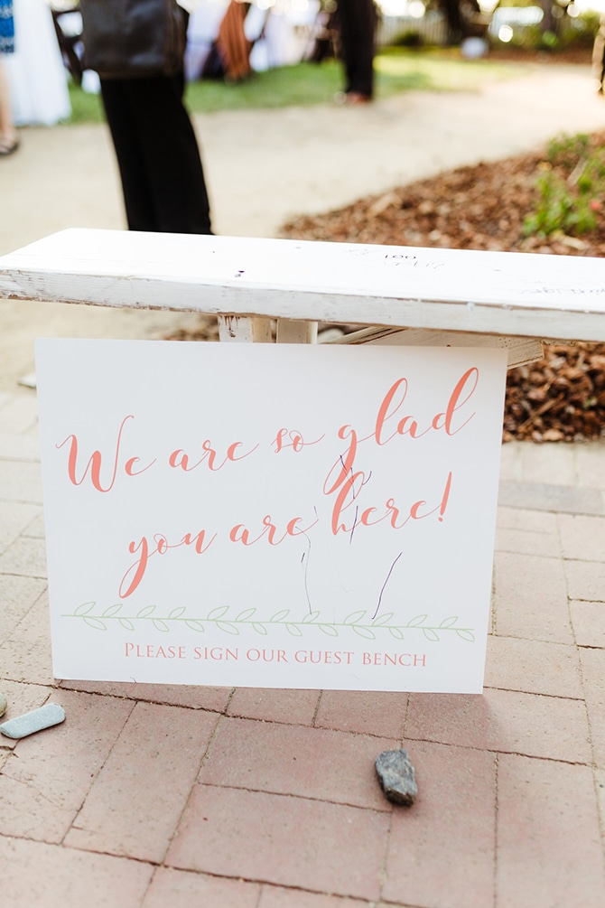 Alternative Wedding Guestbook | Rustic Wedding in Mountain View | Emily Jean Images