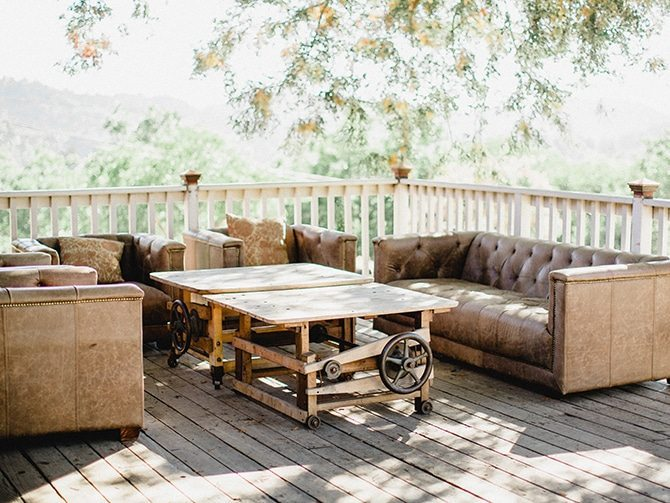 Rustic decking | Koi Art Style | Pearl Hsieh Photography