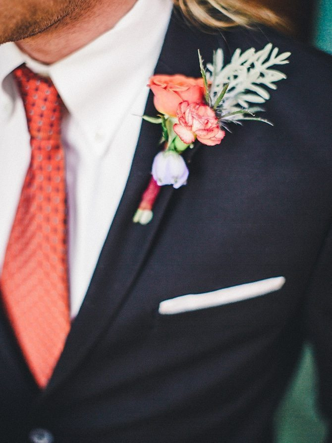 Rustic buttonhole | Koi Art Style | Pearl Hsieh Photography