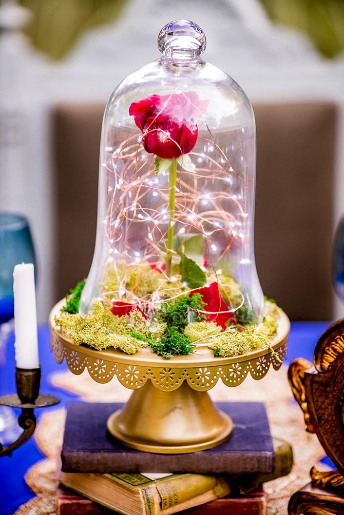 Beauty and the Beast Rose | Beauty and the Beast Wedding | Raelyn Elizabeth Photography